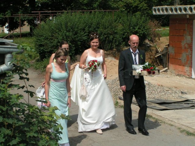 Nevěsta přichází...