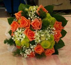 svatba bude do oranžova