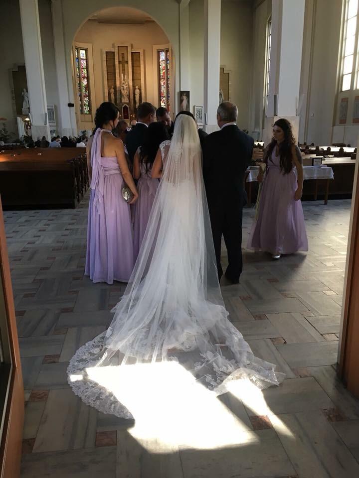 Zavoj Davids bridal - Obrázok č. 1