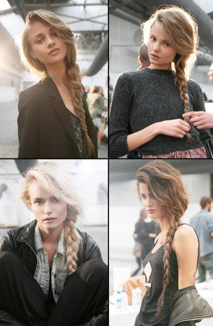 Marek a Tatiana - vlasy? určite zapletený vrkoč na bok..moc po tom túžim :) ako princezná
