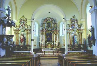 interier kostolika