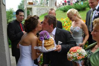 a prva puse v svadobný den :D