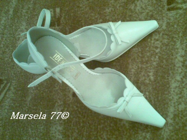 M&M.... - moje svadobné topánočky...