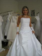 Poslední zkouška šatů těsně před svatbou