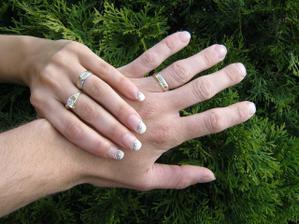 Už máme prstýnky