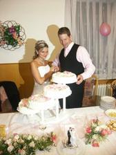 Krajení svatebního čtyřpatráku