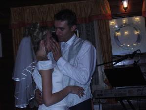 Manželský tanec a slzy štěstí