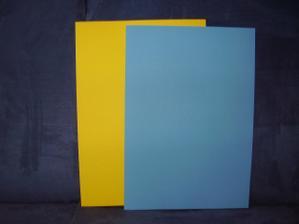 barevné čtvrtky na vlastnoručně vyrobená oznámka 2,50 /ks