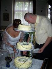 krájíme dortík