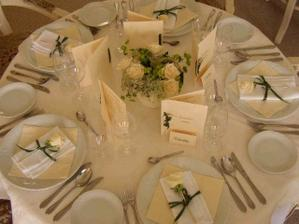 svatba bude laděna do bílo - zlaté