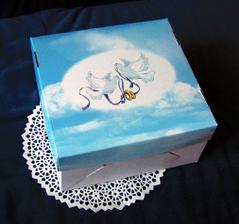 Nejsem zručná, takže výslužkové krabice nakoupím:-)