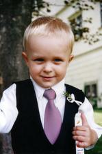 Nejmladší svatebčánek-synovec Áďa