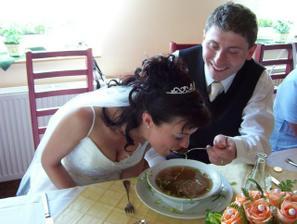 Trápení s polévkou