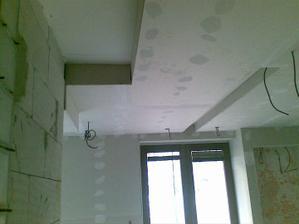 na niektorých miestach sa ponechá pôvodná výška stropu