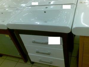 umývadlo so skrinkou do kúpelne