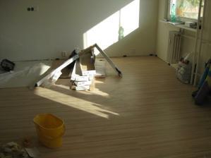 položená podlaha
