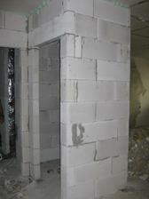 nově vyzděné wc