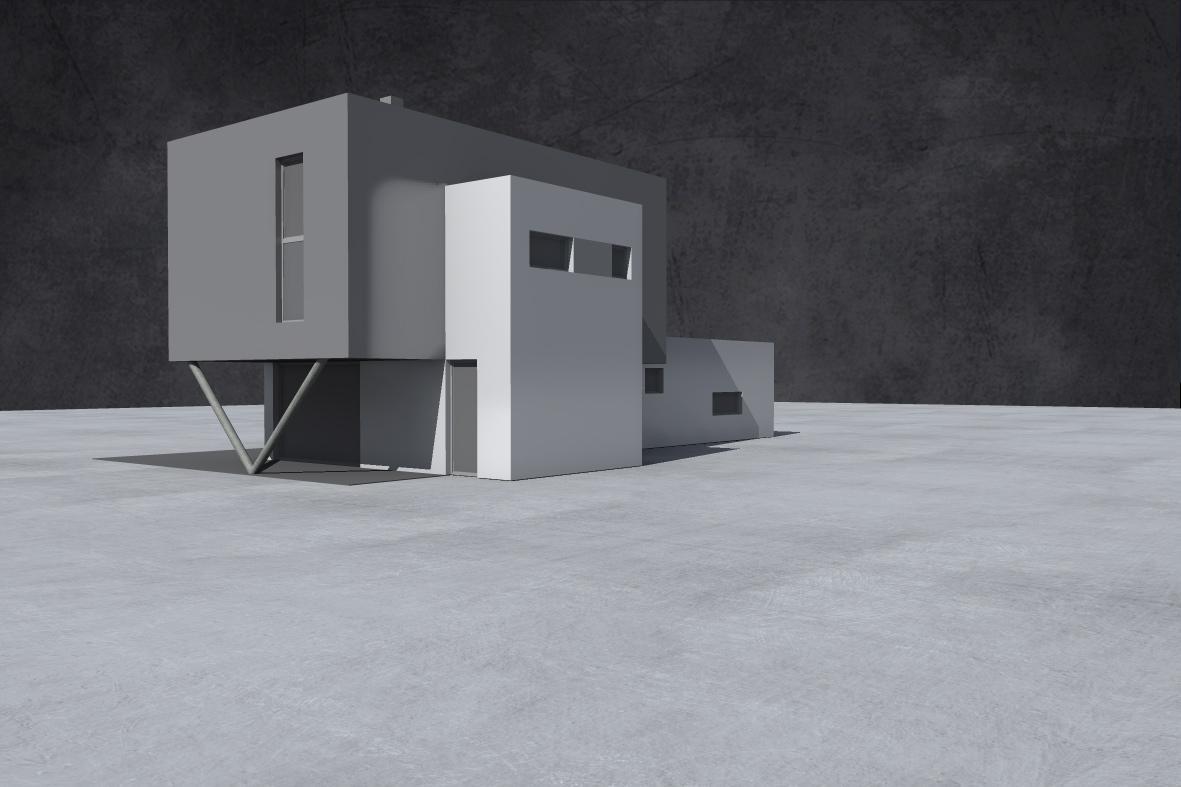 Domečky - zastavena plocha 150 m2 - 8+kk+garaz