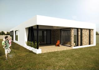bungalov 6+kk + garaz, zastavena plocha bez terasy a kryteho stani cca 205 m2