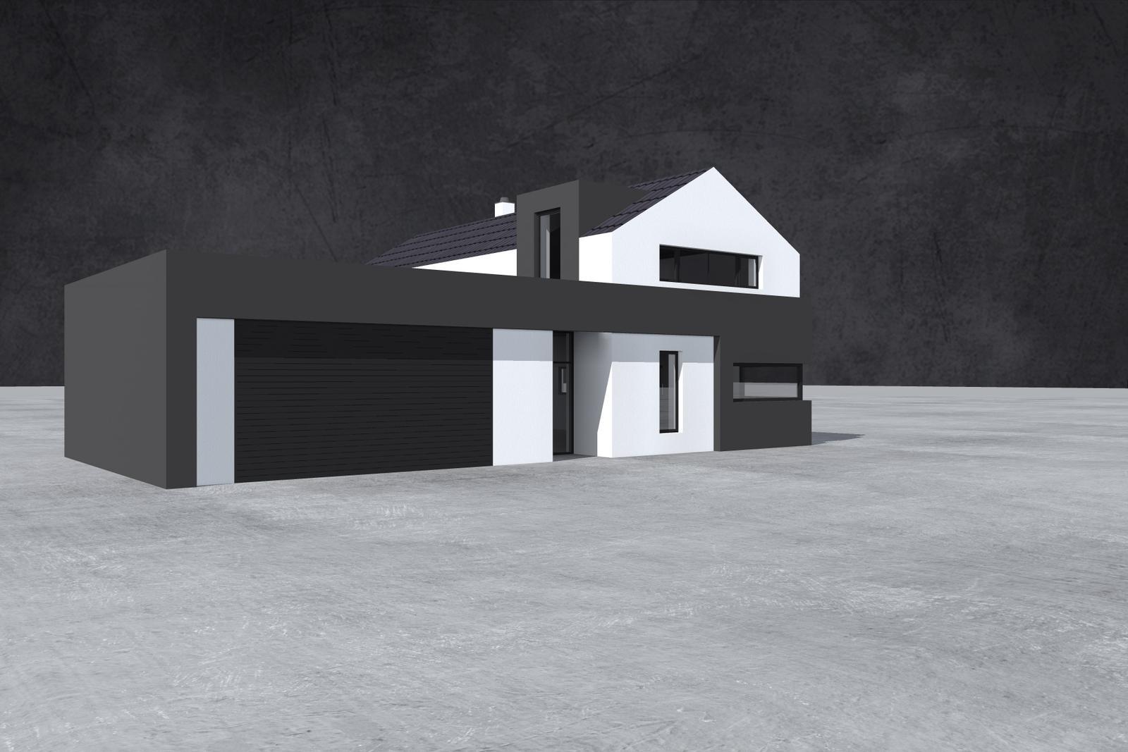 Domečky - 5+kk+dvougaraz = 150 m2