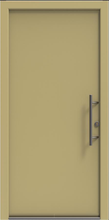 Domove, domove.. - vchodové dřevohliníkové dveře - barva bude antracit a dlouhé hranaté madlo