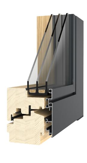 Domove, domove.. - dřevohliníková okna Stratos 110