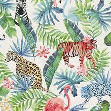 bude jungle pokojíček
