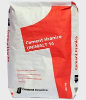 Vyborny cement... Beton som vyrabal nasledovne na murovenie: 1/3 UNIMALT + 10kg klasicky cement + strk 0.4 + voda... Nie vodka...