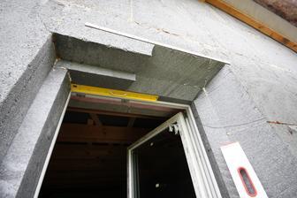 Orezavanie ostenia okien do uhlov... styl 2