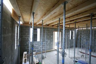Uplne stacilo 50 stojok na cely dom (cca 10m x 9m), hrubka platne 16cm... Rozmiestnenie cca 2x1,5 metrove.