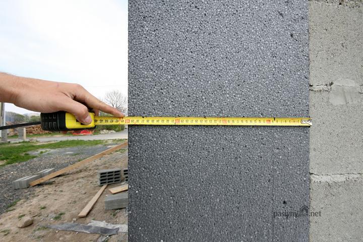 Nulový dom bez komína... Som UFO? - Prvy 40cm Neopor na Slovensku R=12.5 U=0.08  Na mieru vyrobene od predajpolystyrenu.sk