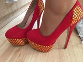 Topánky poštvcene, 38