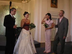 my s mojí svědkyní a svědkem ženicha