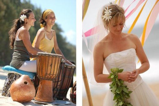 Wedding on the beach 2011 - nadherne :)