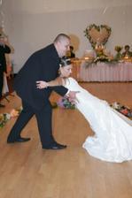 pokus o prvý tanec - bol iný ako zvykne byť, no úspech zožal poriadny :-)