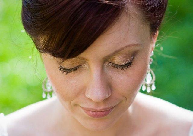 Svadobné detaily - svadobny make-up