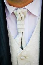 francuzsku vestu a kravatu sme davalis it asi tyzden prd svadbou