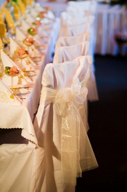 Svadobné detaily - bez navlekov by to nebolo ono:-)