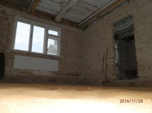 Snížení podlah - první pokoj hotov :)