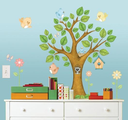 Dětský pokoj - naše inspirace - Inspirace, asi zkusíme namalovat sami na stěnu