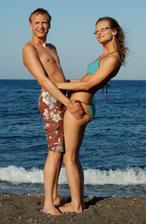 svatební cesta na Santorini ještě před svatbou :-)