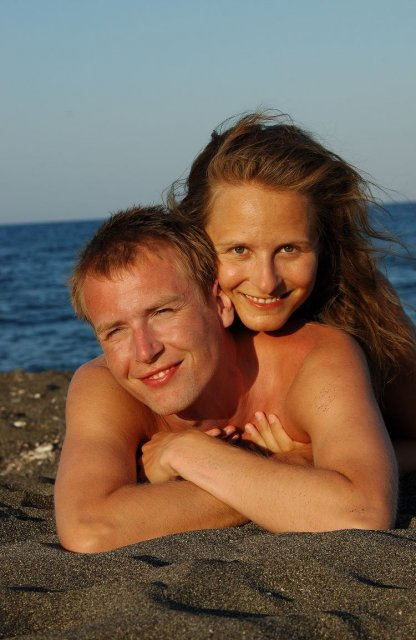 Simona Hývnarová{{_AND_}}Petr Hývnar - předsvatební cesta - Santorini