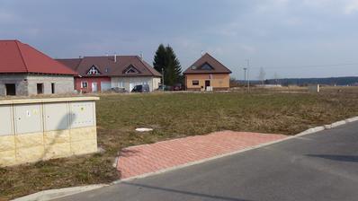 Březen 2013 - výběr pozemku