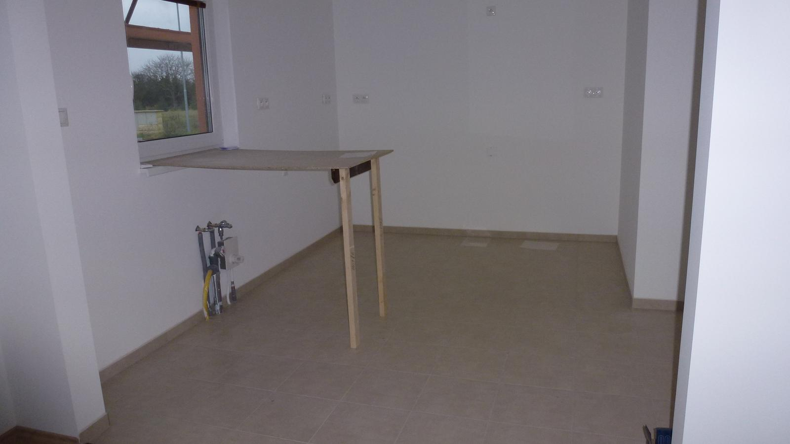 Nova 101 - stavíme - 23. den předání hotového domu (kuchyň)