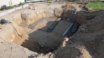 3.6.2018 betonování betonové desky