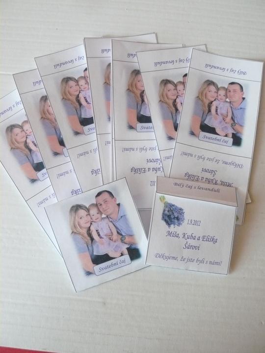 Levandulová....:) - dárečky pro svatebčany, ještě nezabalené :D