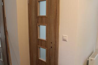 prve 3 obložky s dverami osadené :)