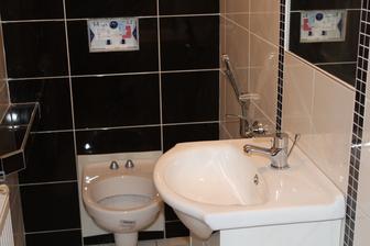 WC-ko este nie celkom kompletne, ale hlavne, ze uz funkcne :)