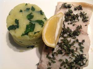 Filet z mořského okouna s citrónovým tymiánem