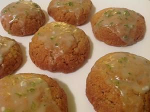 Limetkové sušenky